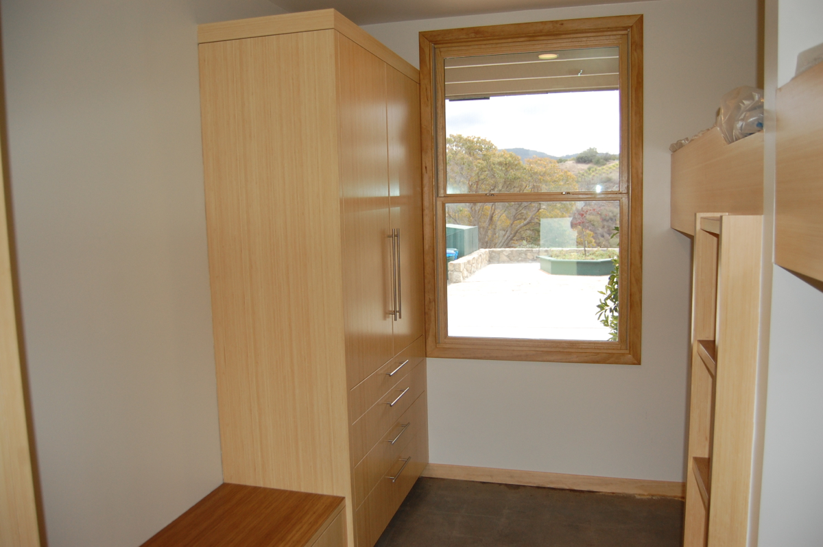 A view of a refurbished Room 24, looking onto Bedrock Square.