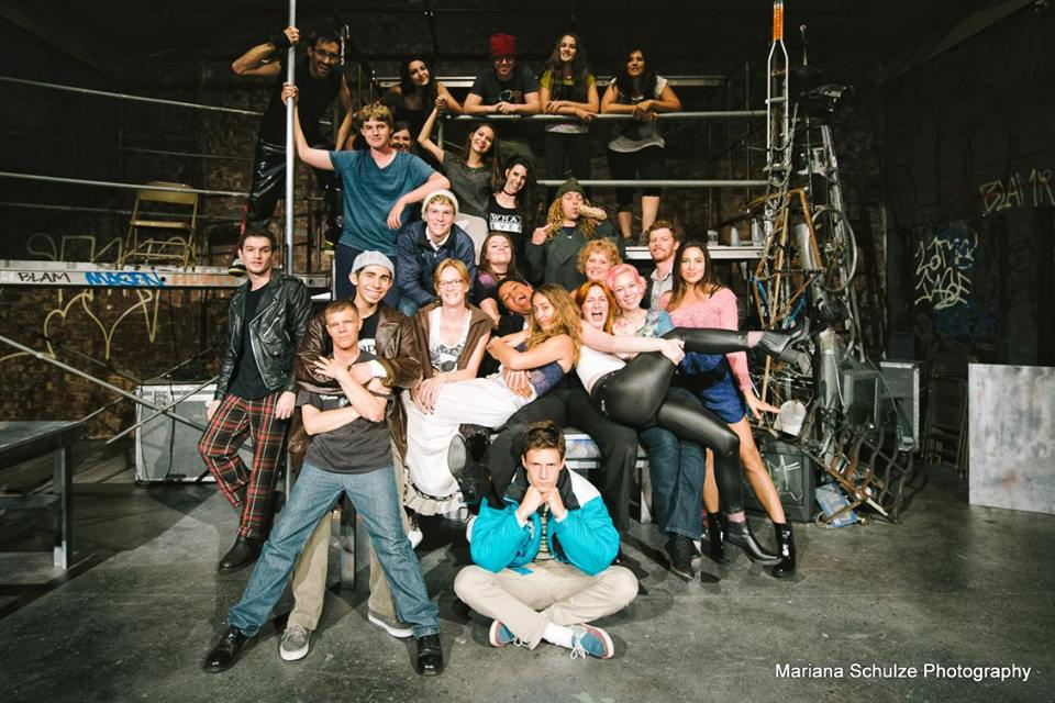 The cast of Rent -- Photo by OYES