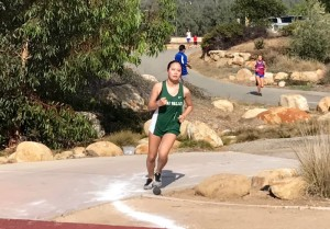 Senior Gilim Bae was among the top Condor League finishers in the opening non-league meet.