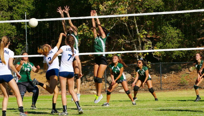 Tough defense has allowed the OVS girls' volleyball team to get off to a hot start this season.