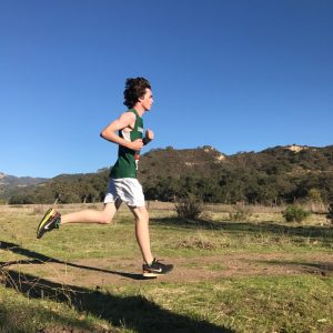 Junior Sam Desmond had the race of his life at the Condor League final, turning in a personal best performance -- Photo by Alex Alvarez